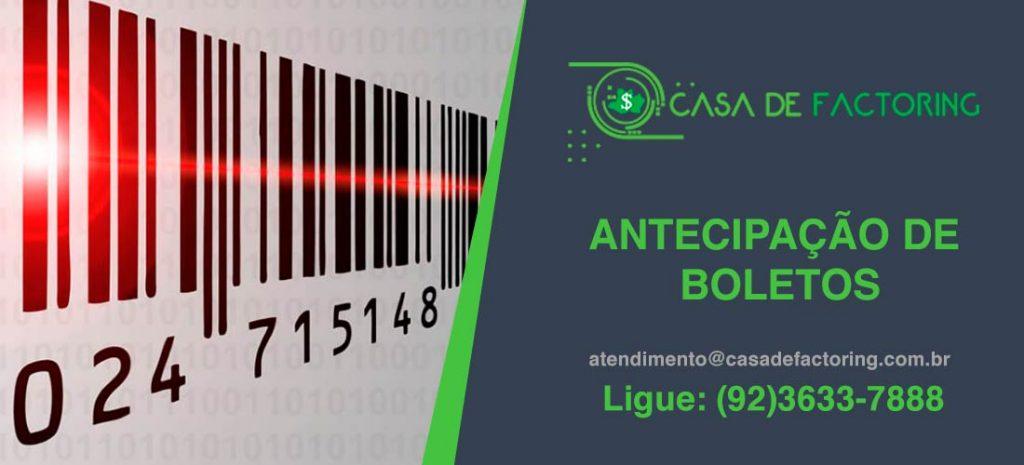 Antecipação de Boletos no Colônia Santo Antonio
