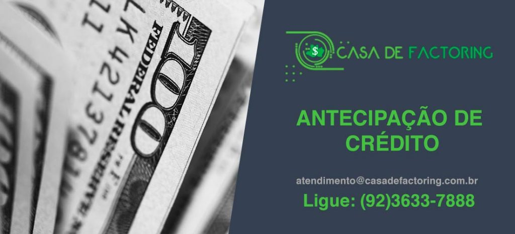 Antecipação de Crédito no Tarumã-Açu