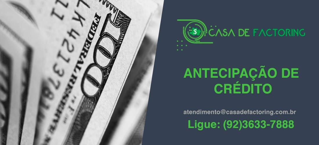 Antecipação de Crédito no Centro