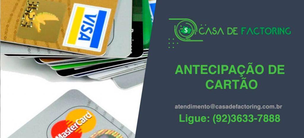 Antecipação de Cartão no Colônia Santo Antônio Aleixo
